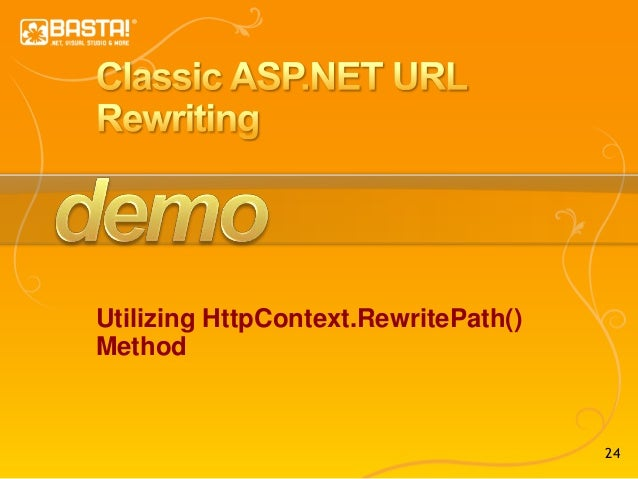 Creating Rewrite Rules for the URL Rewrite Module