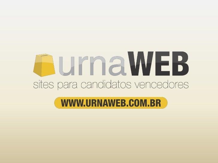 Mas afinal, o que é    Urna Web?»