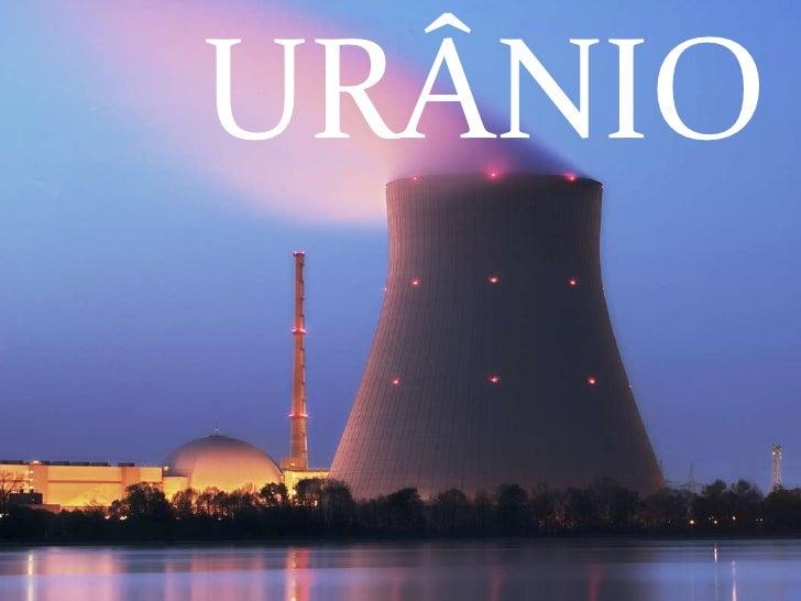 Urânio<br />