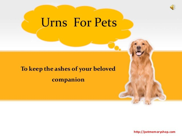To keep the ashes of your beloved companion Urns For Pets http://petmemoryshop.com