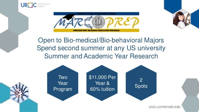 Two Year Program $11,000 Per Year & 60% tuition 2 Spots Open to Bio-medical/Bio-behavioral Majors Spend second summer at a...