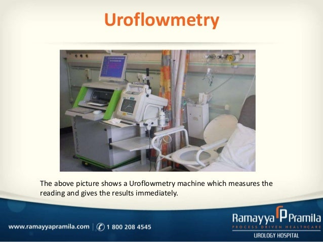 Urodynamics /Uroflowmetry