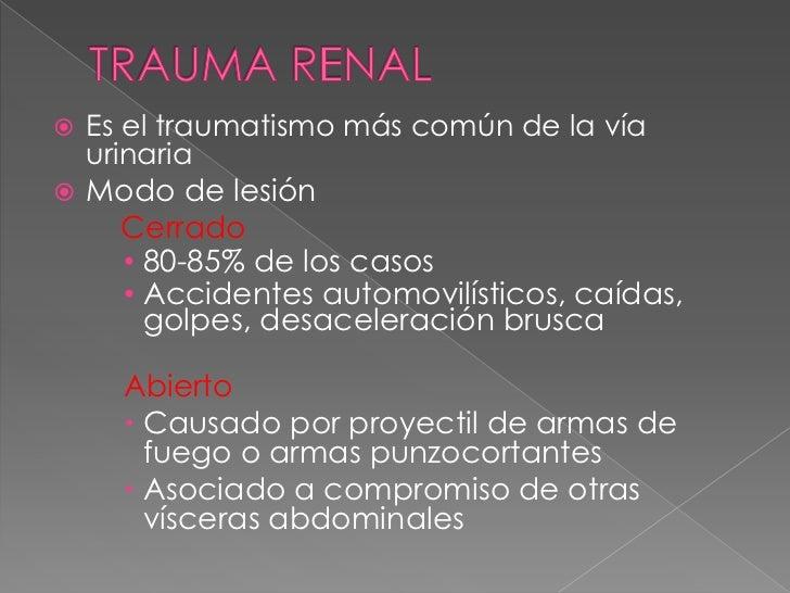    Etiología    › Trauma Quirúrgico 75%       Más común       Complicación de cirugía ginecológica,        oncológica, ...