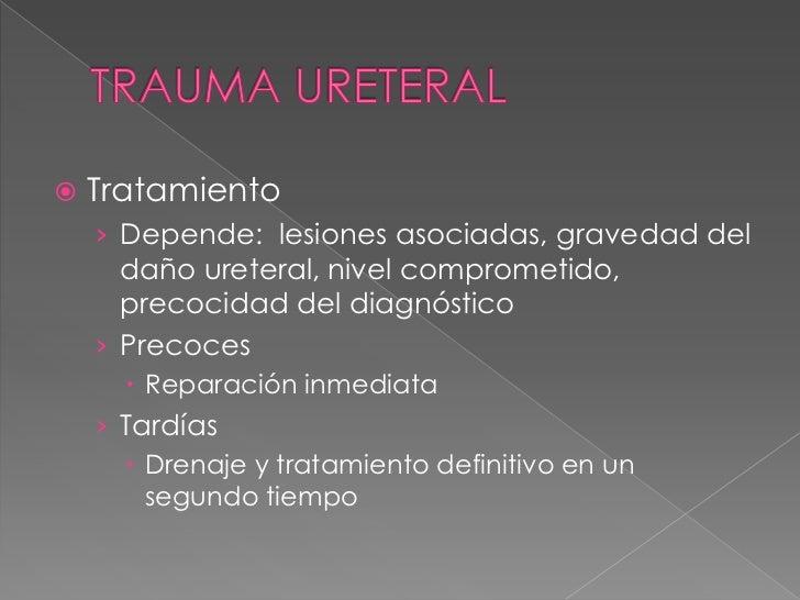  Hematoma subcutáneo sin ruptura  albugínea ni cuerpo cavernoso  REPOSO-HIELO Fractura de pene: intervención quirúrgica ...
