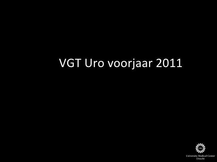 VGT Uro voorjaar 2011