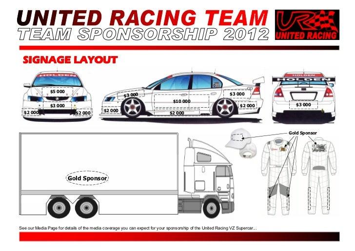 Doc.#585604: Race Car Sponsorship Proposal Template – Sponsorship ...