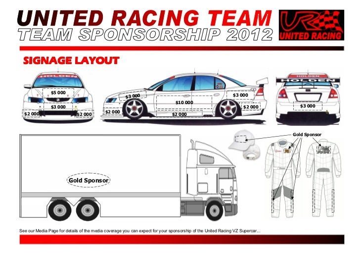 UR Sponsorship Proposal 2012 – Race Car Sponsorship Proposal Template