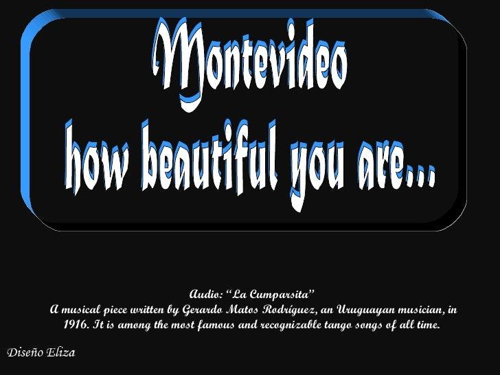 "Audio: ""La Cumparsita""A musical piece written by Gerardo Matos Rodríguez, an Uruguayan musician, in  1916. It is among the..."