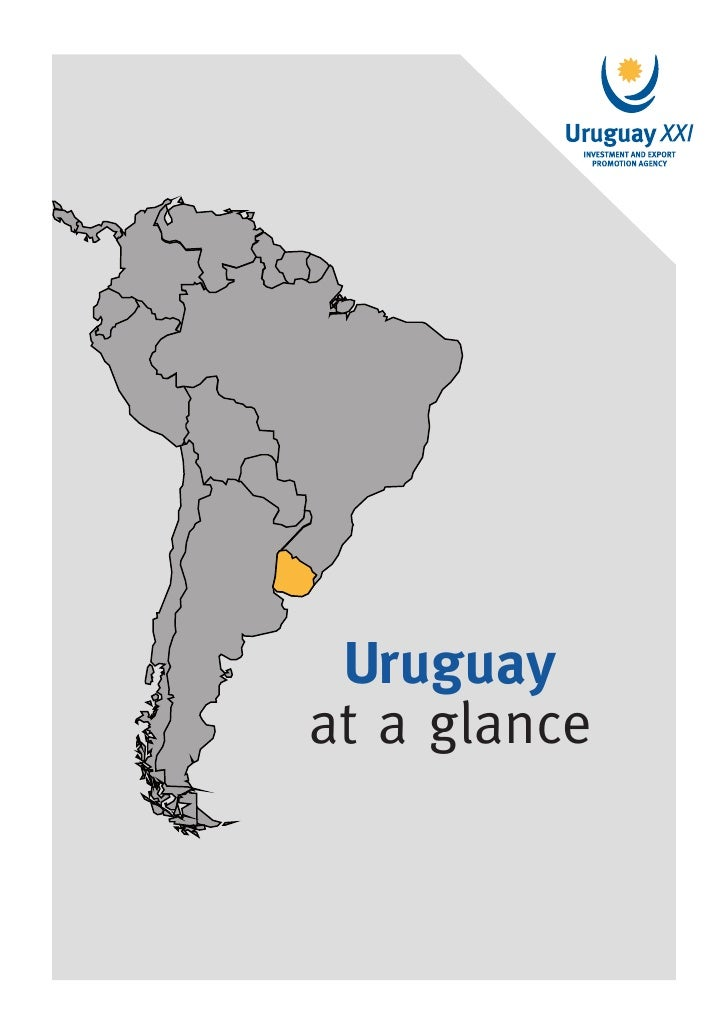 Uruguay at a glance | 1 Uruguayat a glance