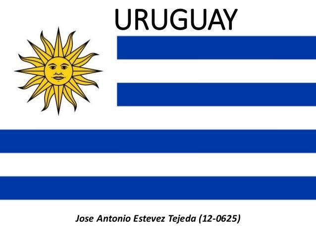 URUGUAY Jose Antonio Estevez Tejeda (12-0625)