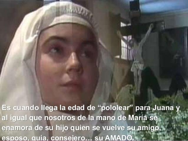 """Es cuando llega la edad de """"pololear"""" para Juana y al igual que nosotros de la mano de María se enamora de su hijo quien s..."""