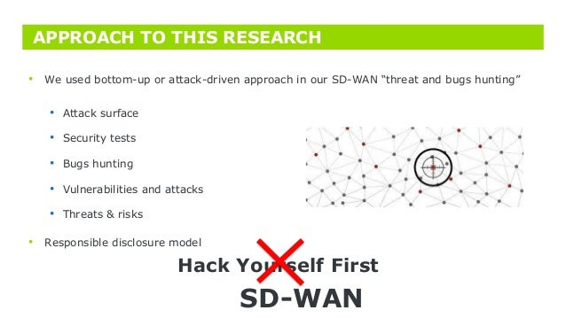 Too soft[ware defined] networks SD-Wan vulnerability assessment
