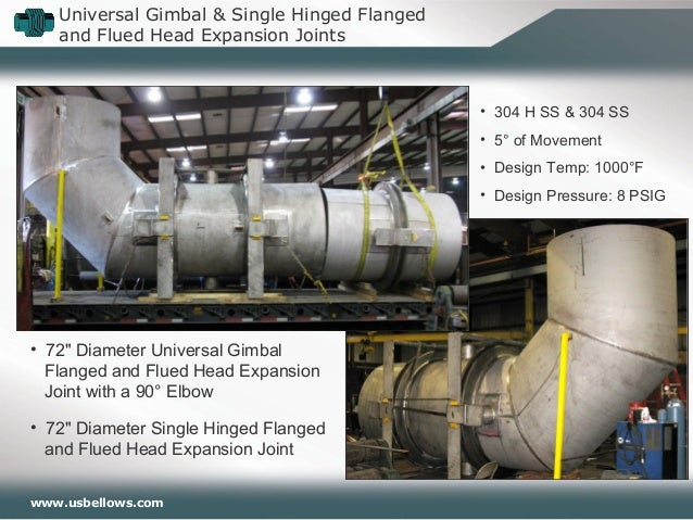 U S  Bellows Expansion Joints In-Depth Webinar
