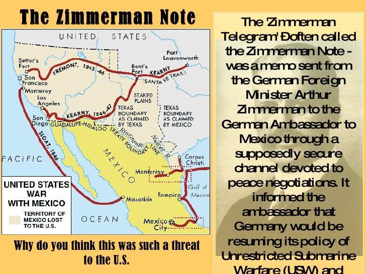 zimmerman telegram notes