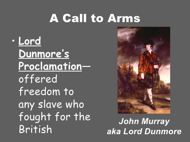 Dissertation lord dunmore