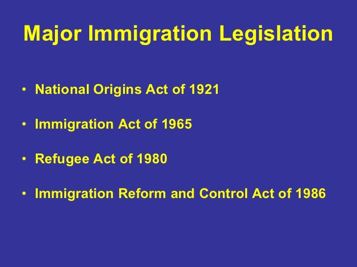 immigration reform and control act essay Comprehensive immigration reform will benefit  and immigration modernization act,  in the modern era dates back to the immigration reform and control act of.