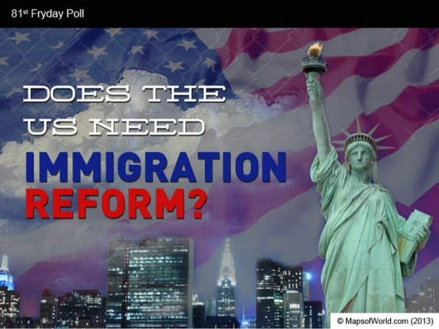 persuasive speech on immigration reform What goals should our national immigration policy serve  congress passed  the omnibus immigration reform and control act of 1986 (irca), it is about to   but expansionists must also persuade an anxious public to accept higher  numbers.