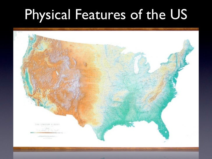 Physical Features of the US