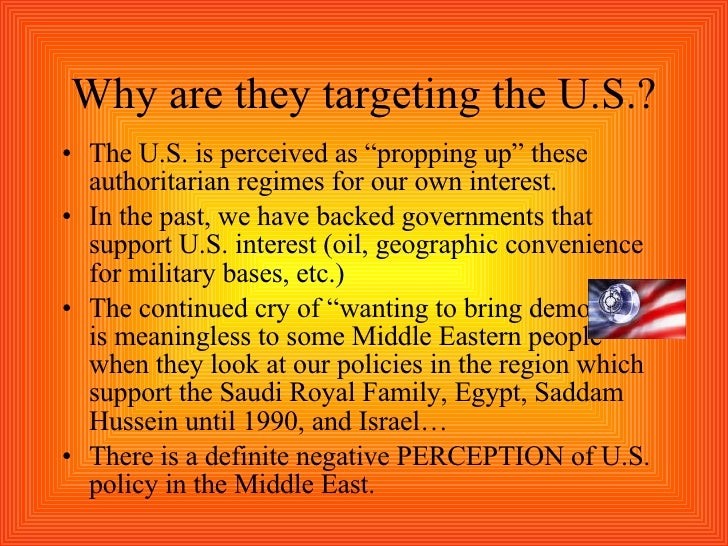 U.S. Policies That Shape The Middle East Powerpoint2