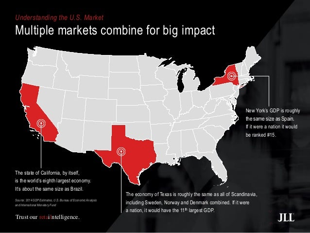 Map Of Texas Vs Europe.U S Vs Europe Retail Market Overview
