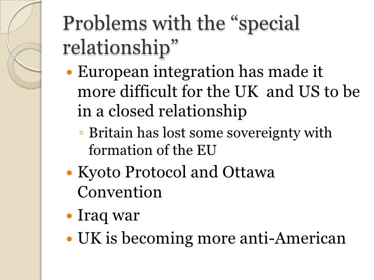 uk and us military relationship problems