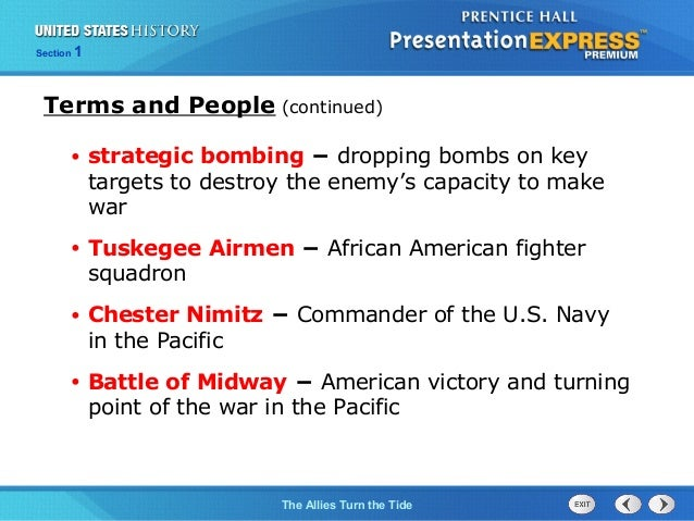 United States History Ch. 15 Section 1 Notes