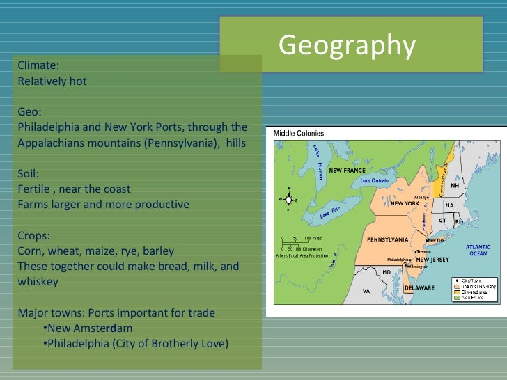Us.1.Middle Colonies Power Point L
