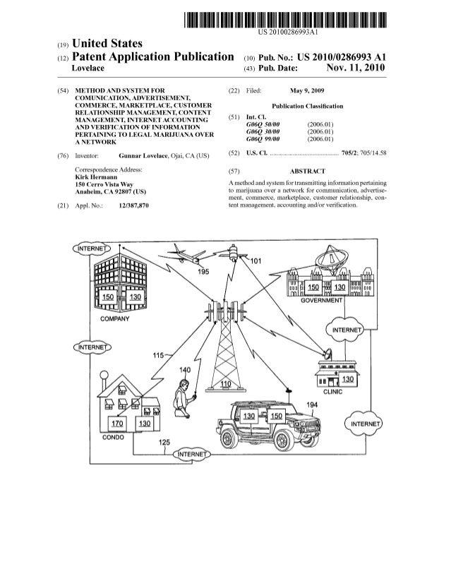 US 20100286993Al (19) United States (12) Patent Application Publication (10) Pub. N0.: US 2010/0286993 A1 Lovelace (43) Pu...