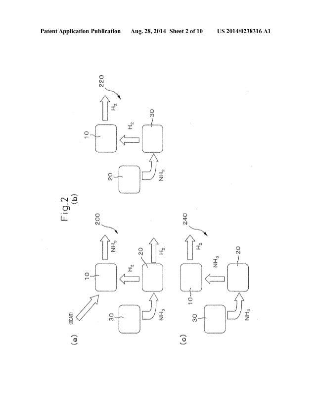 Us20140238316 Toyota 2014 Ammonia Engine Ic Patent