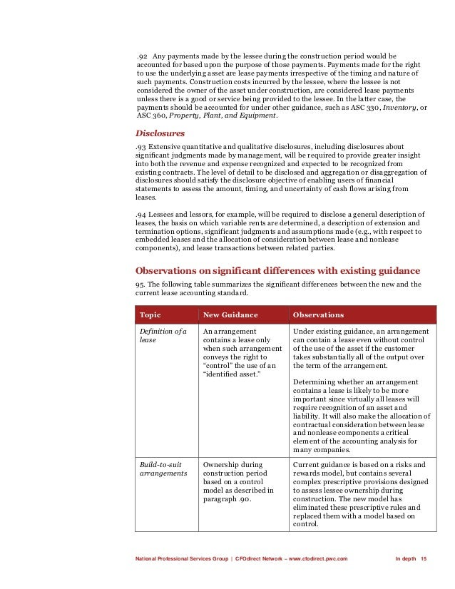 National Professional Services Group   CFOdirect Network – www.cfodirect.pwc.com In depth 15 .92 Any payments made by the ...