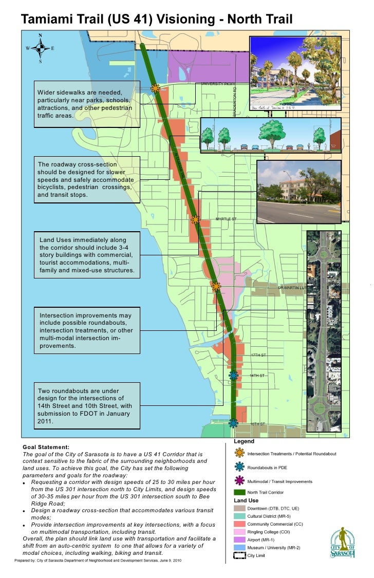 Wider sidewalks are needed,      particularly near parks, schools,      attractions, and other pedestrian      traffic are...