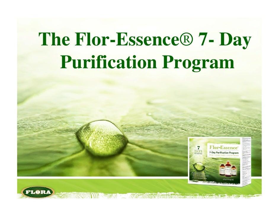 The Flor-Essence® 7- Day  Purification Program