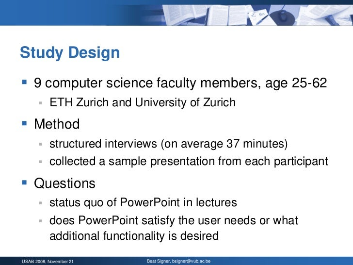 powerpoint multimedia presentations in computer science education: wh…, Presentation templates