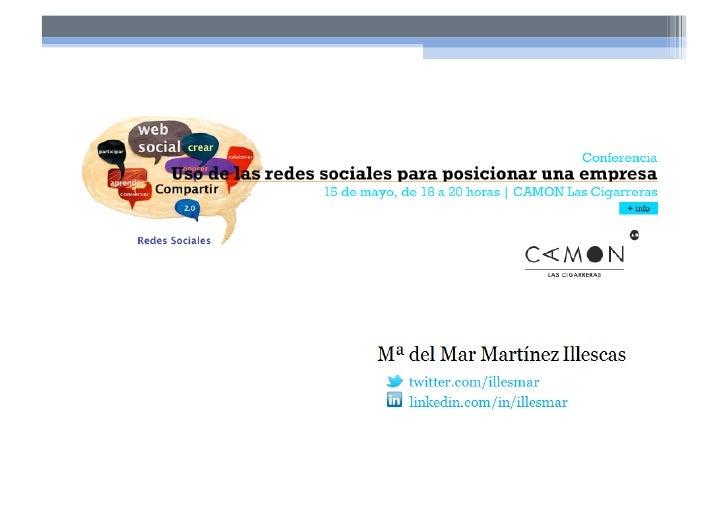 Uso de Redes Sociales para el  beneficio de la empresa