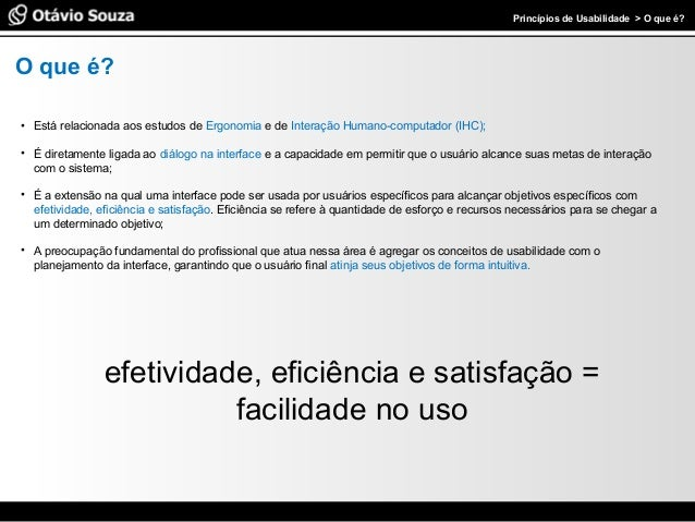 Palestra - Princípios de Usabilidade Slide 2