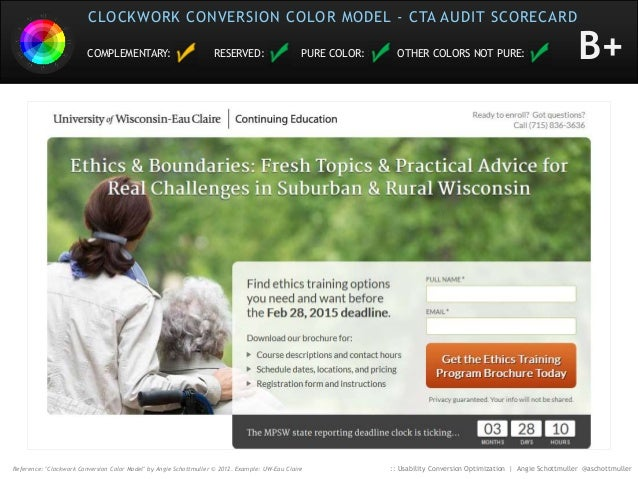 Usability Conversion Optimization for the Eye Slide 85