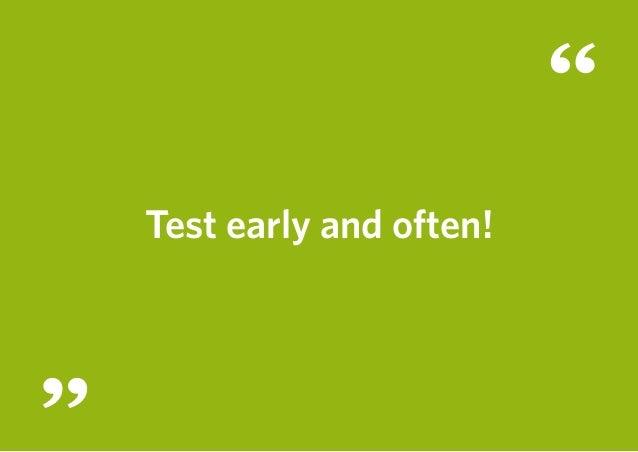 Usability Testessen