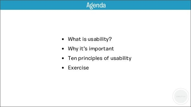 Introduction to Usability Slide 2