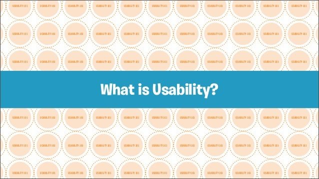 Introduction to Usability Slide 3