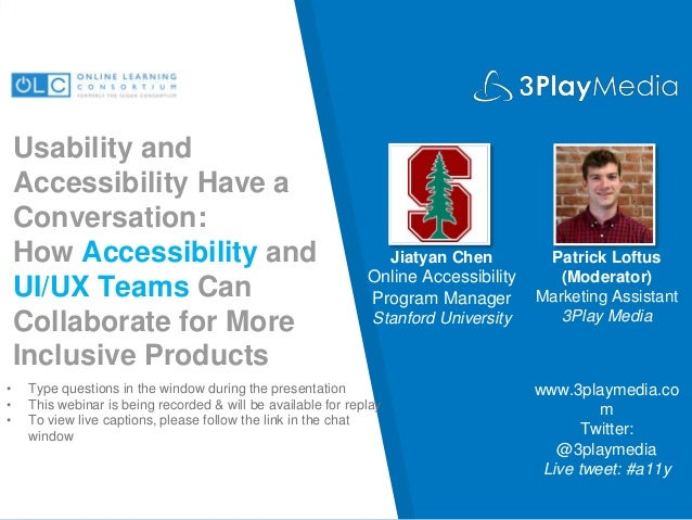 Usability and Accessibility Have a Conversation: How Accessibility and UI/UX Teams Can Collaborate for More Inclusive Prod...