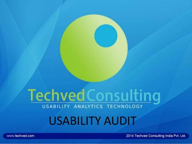 USABILITY AUDIT