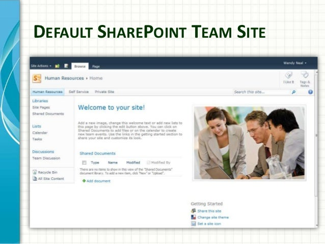 sharepoint website