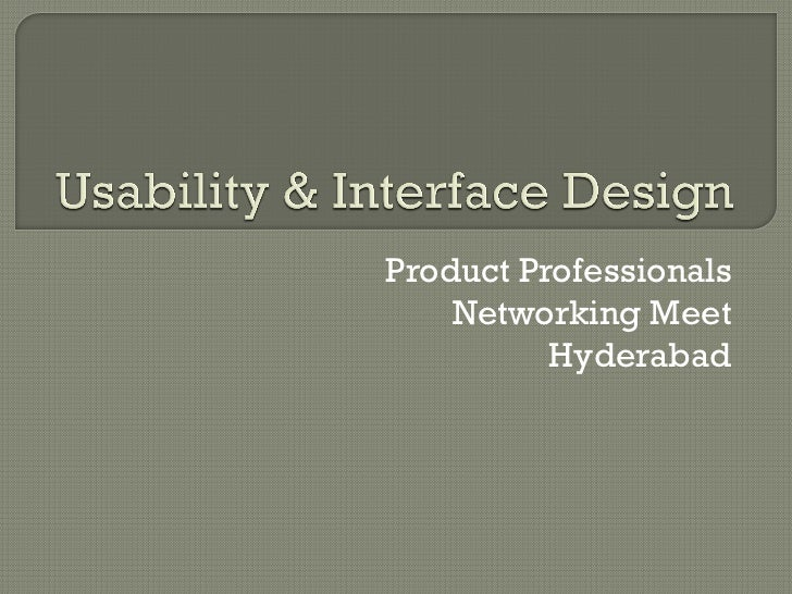 Product Professionals    Networking Meet          Hyderabad