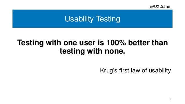 The Secret Sauce for Effective Usability Testing  Slide 2