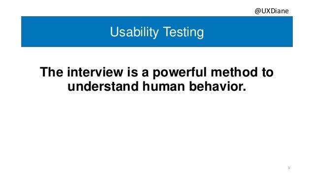 The Secret Sauce for Effective Usability Testing  Slide 3