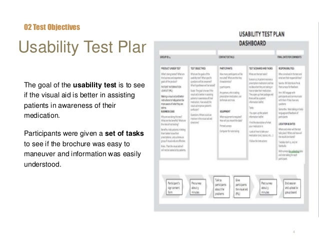 Usability test report 1 for Usability test plan template