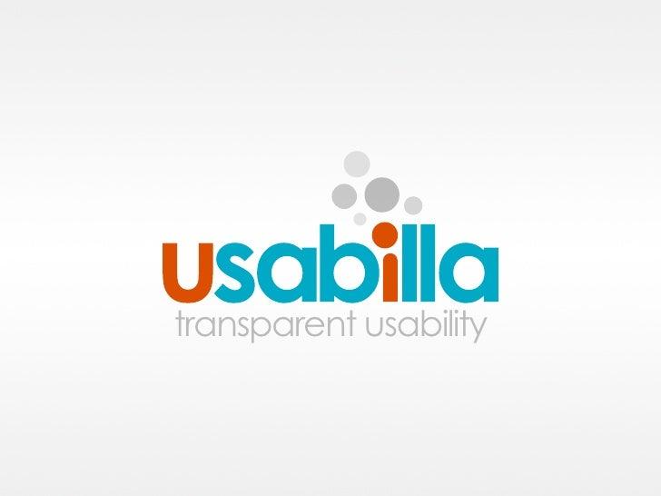 transparent usability