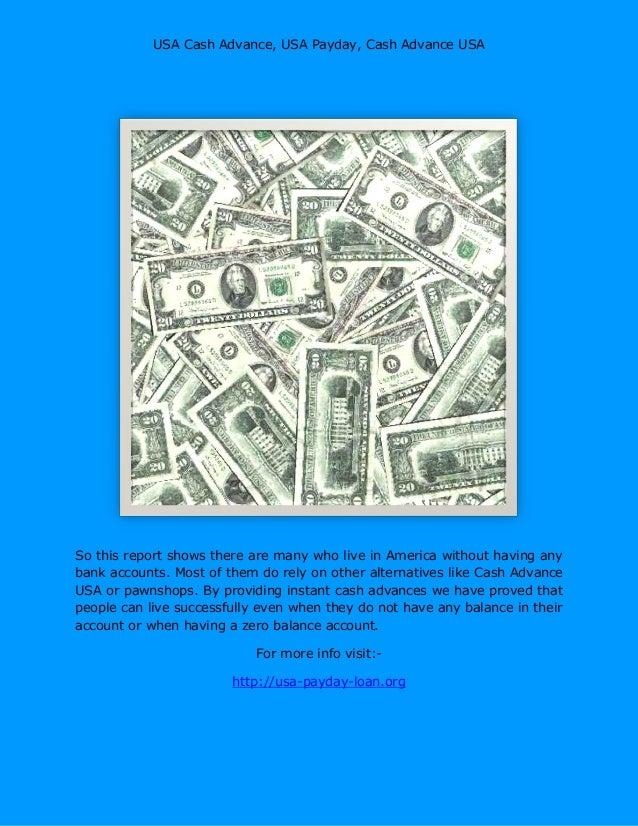 usa loan advance