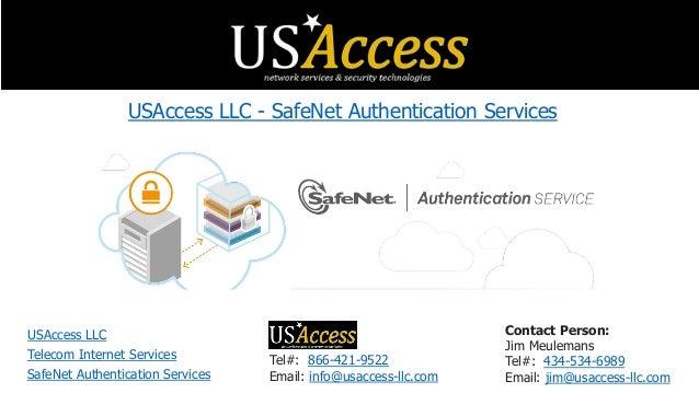 USAccess LLC - SafeNet Authentication Services