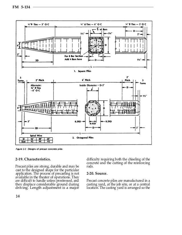 US ACE Pile Construction Field Manual